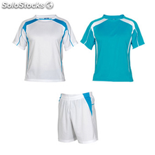 kit Homme blanc/turquoise sport collection
