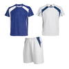 kit Homme bleu royal/blanc sport collection