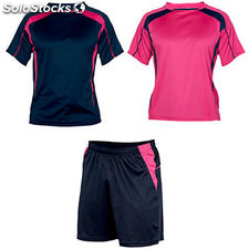 kit Homme marine/rose fluo sport collection