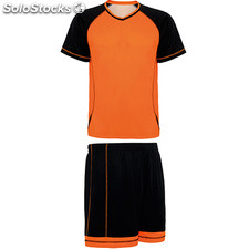 kit Homme orange/noir sport collection