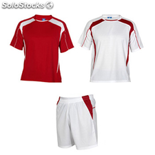 kit Homme rouge/blanc sport collection