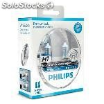 Kit lamparas philips H7 , 12972 wv , 55W , 12V , PX26D , + 2 W5W .