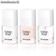 Kit manicura francesa fashion color french manicure kit golden r