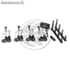 Kit of 4 motorized rollers for mounting to tap funds (EE45)