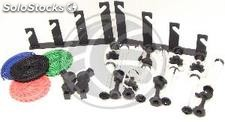 Kit of 4 reels funds manuals with wall fixing (EE35-0002)