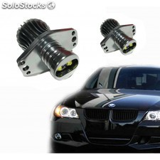 Kit Ojos De Angel En Led 20w Para Bmw E90-e91 2005/2008 - Tipo 4