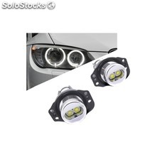 Kit Ojos De Angel En Led 6w Para Bmw E90-e91 2005/2008 - Tipo 3