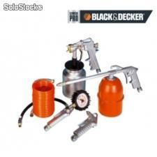 Kit para compresor de 5 piezas black and decker