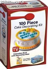 kit para decorar tartas fondan cake