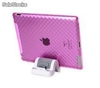 Kit para iPad2 Dock y estuche (Rosado)