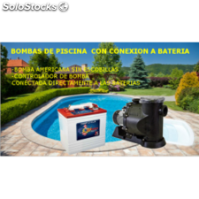 Kit piscina a bateria 48 v 120m3