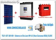 Kit placas solares - solar eco 5000 48V