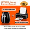 Kit pro mini horno + impresora sublimacion epson A4