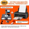 Kit pro sublimación digital transfer 5 en 1