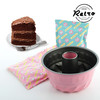Kit Retro para Preparar Bundt Cake de Chocolate
