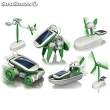 Kit robotica educacional elements solar bot