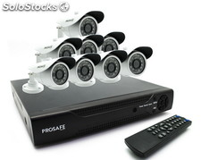 Kit Seguridad Prosafe 4 Camaras (720p) + HDD 500Gb
