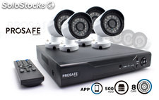 Kit Seguridad Prosafe 8 Camaras (720p) + HDD 500Gb
