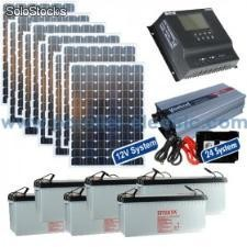 Kit solaire 1000 Watts 12/24 - 220 Volts