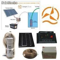 Kit solaire complet pompage 12 Volts 5 Watts