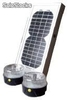 Kit Solaire Universel - 2 lampe led - 5W