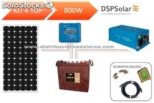 Kit solar fotovoltaico 4 top 800 w