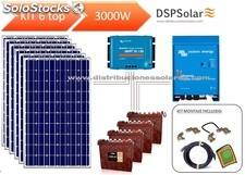 Kit solar fotovoltaico 6 top 3000 w