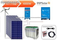 Kit solar fotovoltaico 7 top 4000 w