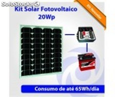 Kit Solar Fotovoltaico 840Wp