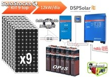Kit solar fotovoltaico 9 top 12000w