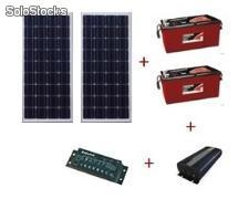 Kit solar - Freezer* 220 Litros