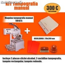 Kit tampografía manual