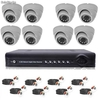 Kit VideoSurveillance 8 Domes Int Sharp®