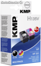 Kmp H135V Multipack bk/Color compatible con hp ch 561/562
