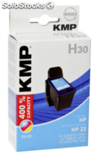 KMP H30 Cartucho color compatible con HP C 9352 AE