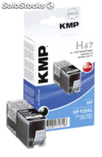Kmp H67 Cartucho negro comp. con hp CD 975 ae Nr. 920 xl
