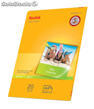 Koak 180gsm Gloss photo paper A4 (20 folhas)
