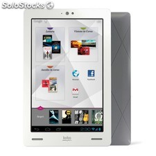 "Kobo Arc 32GB blanco, tablet Android de 7"" con lector ebooks"