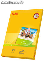 Kodak 180gsm Gloss photo paper A4 (50 folhas)