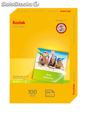 Kodak 180gsm Gloss value photo paper A6 10x15 (100 folhas)
