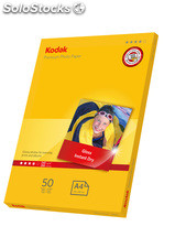 Kodak 240gsm premium Gloss Photo Paper A4 (50 folhas)