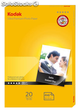 Kodak 280gsm ULTRA RC Glossy Photo Paper A6 10x15 (20 folhas)