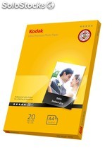 Kodak 280gsm ULTRA Satin Photo Paper A4 (20 folhas)