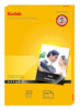 Kodak 280gsm ULTRA Satin Photo Paper A6 10x15 (20 folhas)
