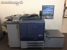 Konica Minolta Bizhub Pro C6000L Copier Printer Scanner Finisher LCT