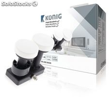 König lnb Monobloque Single 4.3° 1.1 dB NE550621283