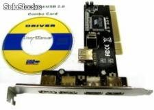 Kontroler pci to usb 2.0 4+1 ali ch