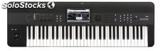 Korg Krome-61 Keyboard Workstation, 61-Key, Black