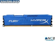 Kvr 8Gb 1600Mhz Ddr3 Cl10 Dimm Hyperx Fury Blue Series