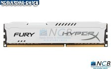 Kvr 8Gb 1600Mhz Ddr3 Cl10 Dimm Hyperx Fury White Series